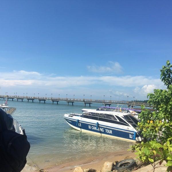 Photo taken at Ao Por Pier by Saif A. on 7/6/2017