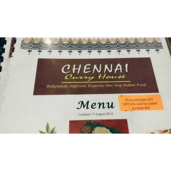 Photo taken at Chennai Curry House by Khaynee L. on 4/20/2015
