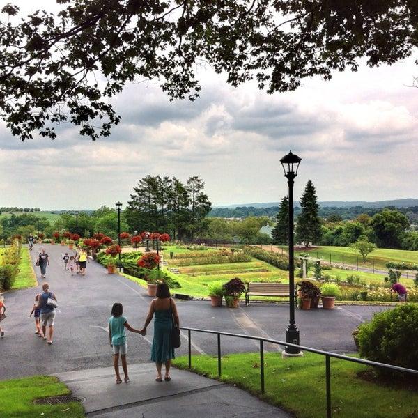 Photo taken at Hershey Gardens by Mark K. on 7/21/2013