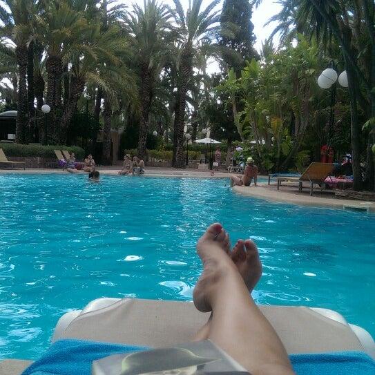 Foto tomada en Hotel Huerto del Cura por Violeta C. el 7/12/2014