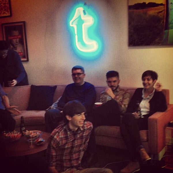 Photo taken at Tumblr HQ by Rob L. on 12/13/2012