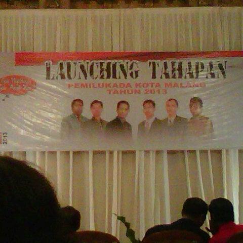 Photo taken at Hotel Gajahmada Graha by Dedy P. on 10/24/2012