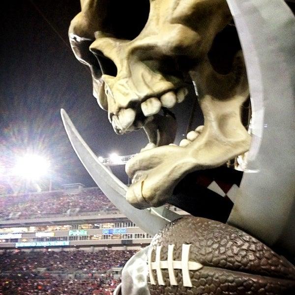 Photo taken at Raymond James Stadium by Justin M. on 1/20/2013
