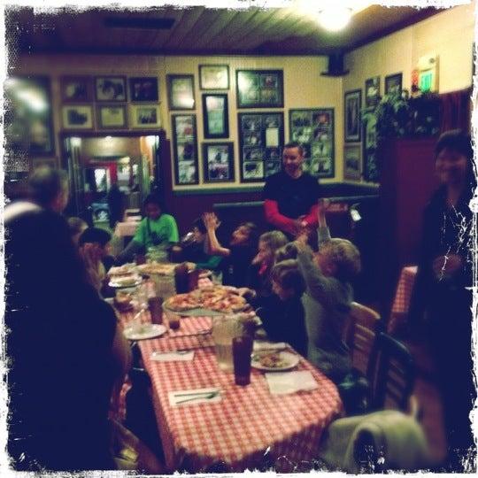 Photo taken at Milano Pizzeria by Aaron A. on 11/30/2012