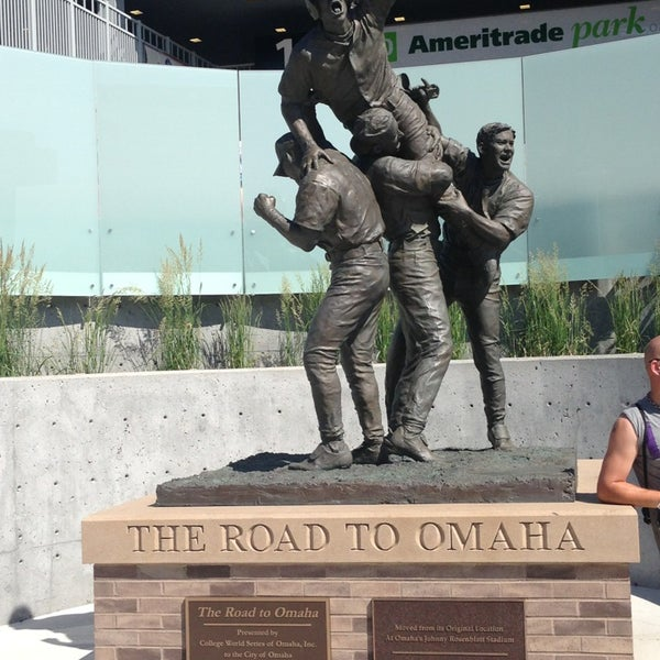 Photo taken at TD Ameritrade Park by Keith B. on 6/16/2013