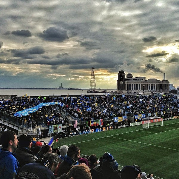 Photo taken at Talen Energy Stadium by Andy O. on 3/2/2013