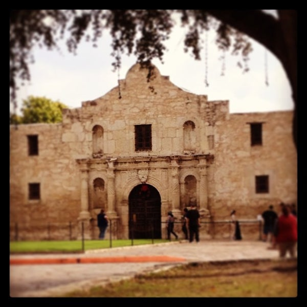 Photo taken at The Alamo by Ana C. on 12/28/2012