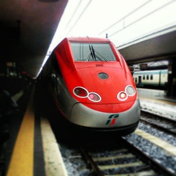 Photo taken at Napoli Centrale Railway Station (INP) by Giacomo I. on 2/18/2013