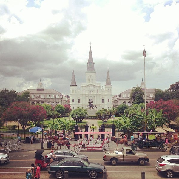 Photo taken at Muriel's Jackson Square by Sergio G. on 7/14/2013