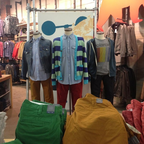 Urban outfitters clothing store