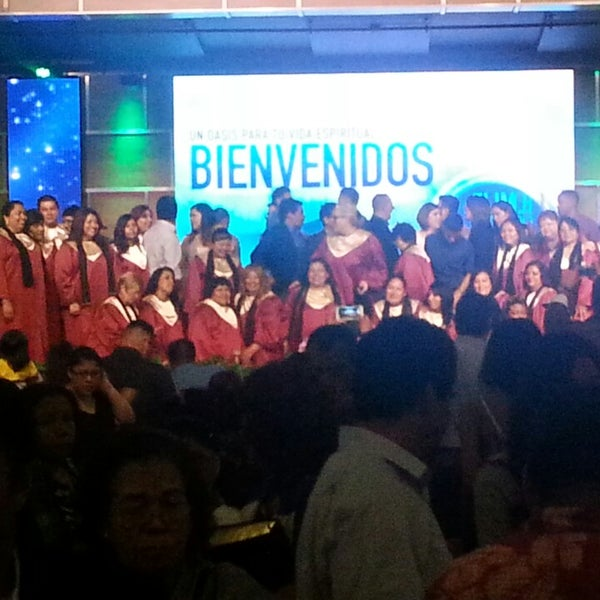 Photo taken at ELIM Central Los Angeles by Juan R. on 7/22/2014