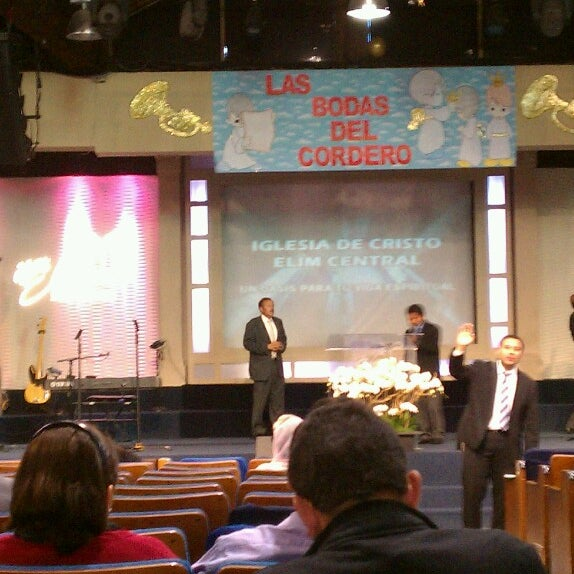 Photo taken at ELIM Central Los Angeles by Juan R. on 3/18/2013