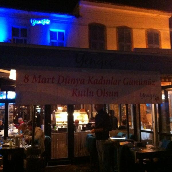 3/8/2013 tarihinde Aslihan Ç.ziyaretçi tarafından Yengeç Restaurant'de çekilen fotoğraf