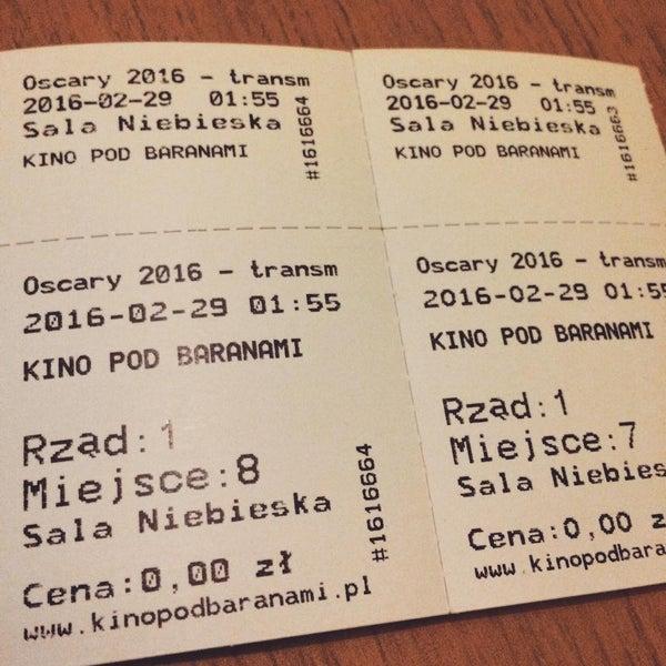 Photo taken at Kino Pod Baranami by Comoo on 2/26/2016
