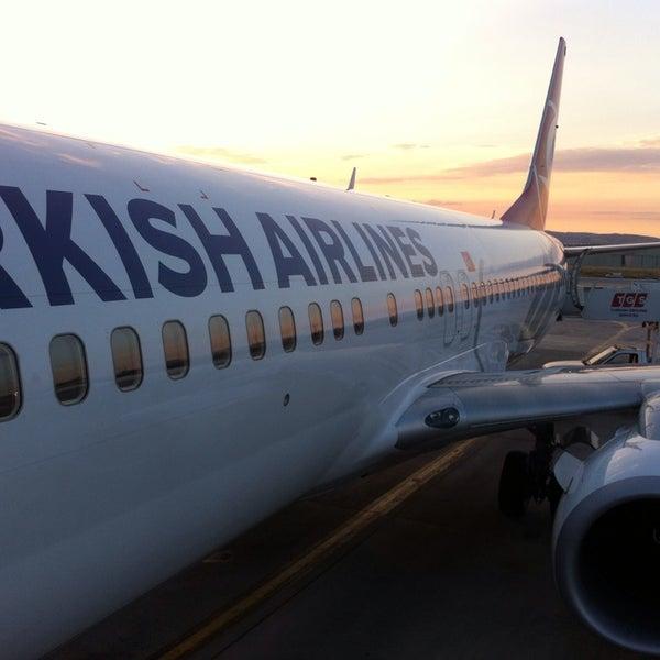 Photo taken at Ankara Esenboğa Airport (ESB) by Ömer C. on 7/8/2013