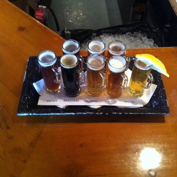 Photo taken at La Conner Brewing Company by Ni K. on 11/12/2013