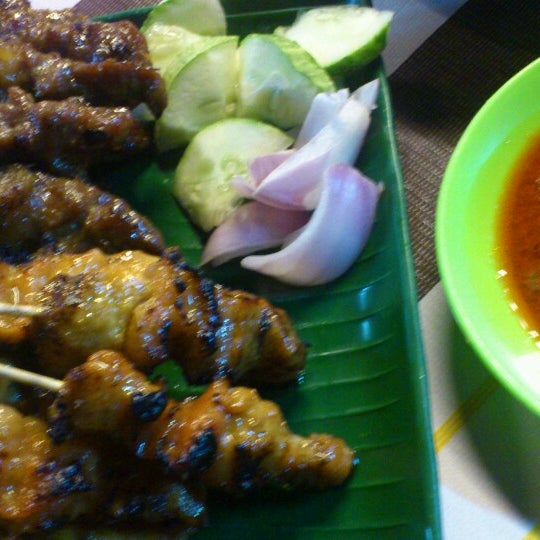 Foto tomada en Satay Station Original satay Recipe por Uda charlie el 4/23/2014