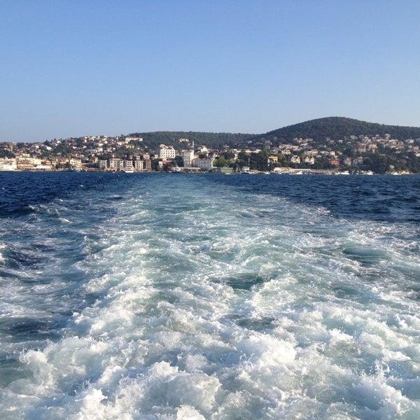 Photo taken at Büyükada Mavi Marmara Motor İskelesi by Ufuk A. on 8/9/2013