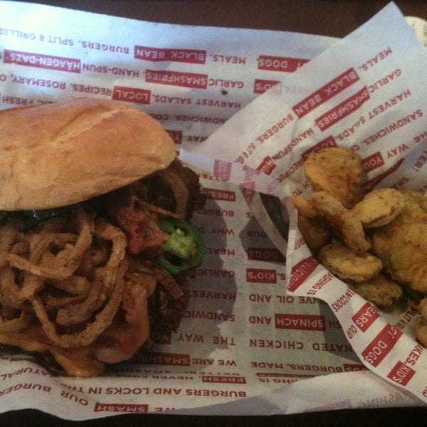 Photo taken at Smashburger by Rob D. on 3/27/2013