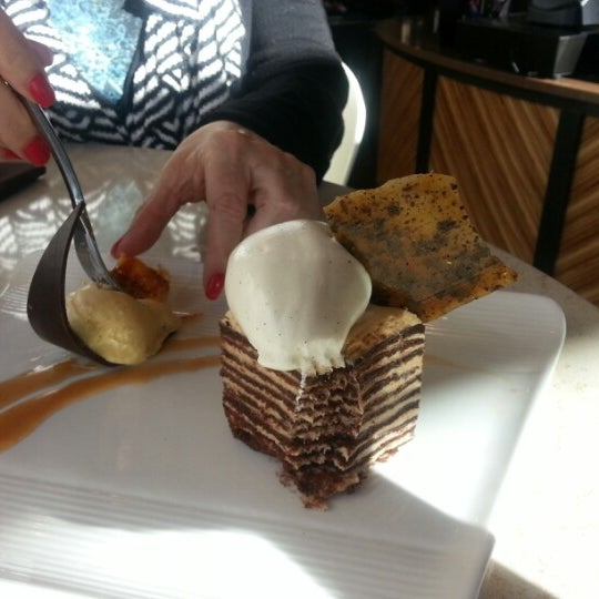 Photo taken at Crave Dessert Bar & Lounge by Jill S. on 1/19/2013