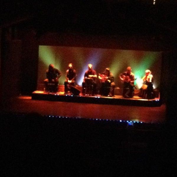 Photo taken at Palacio del Flamenco by Deria A. on 3/29/2013