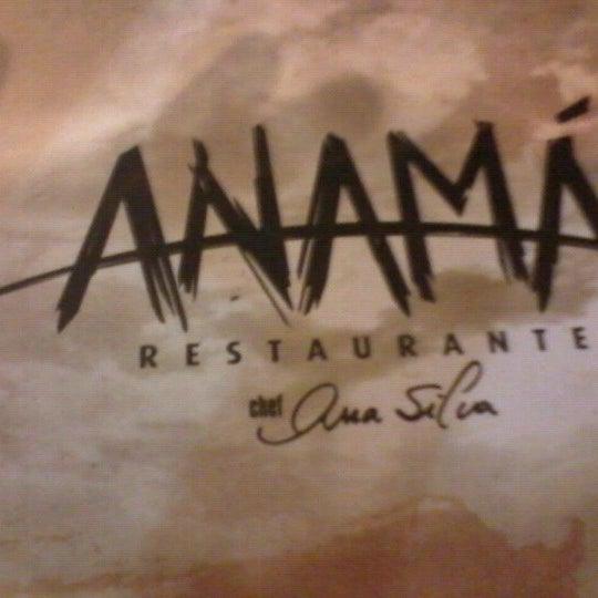 Foto tirada no(a) Anamá Restaurante por Eduardo S. em 11/17/2012