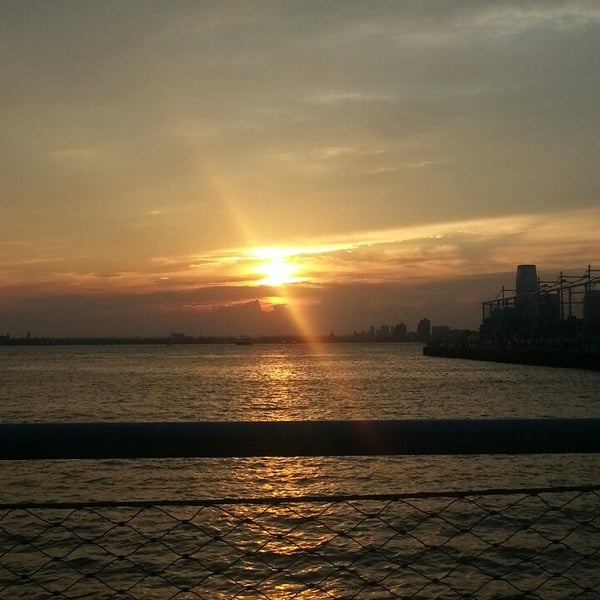 Photo taken at Brooklyn Bridge Park - Pier 6 by Ana M. on 7/22/2013