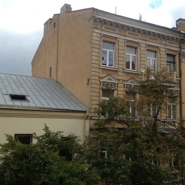 Photo taken at Comfort Hotel Vilnius by Petra V. on 9/26/2014