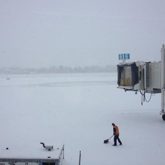 Photo taken at Portland International Jetport (PWM) by Jenny S. on 12/27/2012