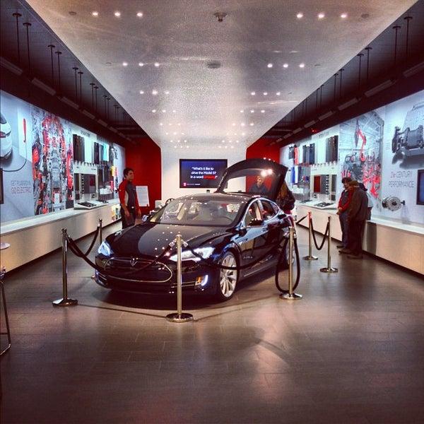 Tesla Motors Natick Mall Natick Ma