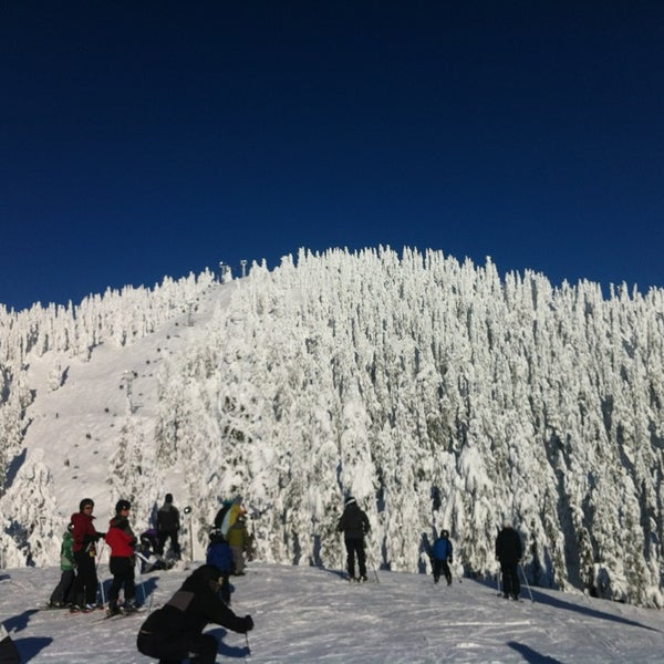 Photo taken at Cypress Mountain Ski Area by Ben P. on 12/30/2012
