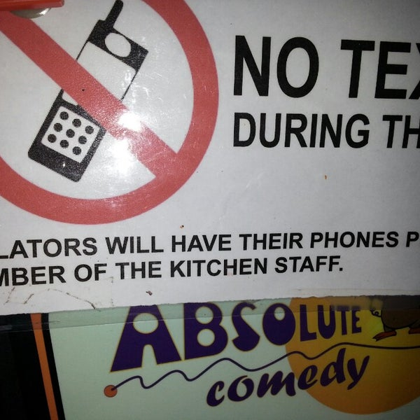 Photo taken at Absolute Comedy by Karenn G. on 6/13/2014