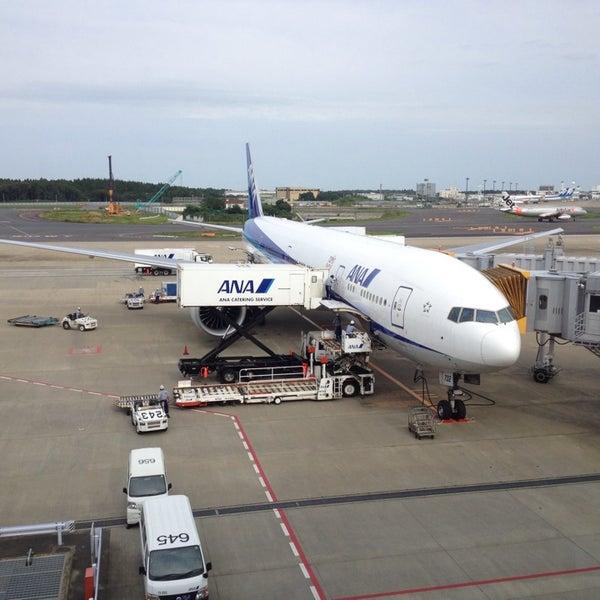 Photo taken at Narita International Airport (NRT) by Kazu S. on 7/1/2013