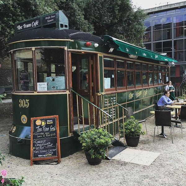 Снимок сделан в The Tram Café пользователем Nur D. 8/29/2016