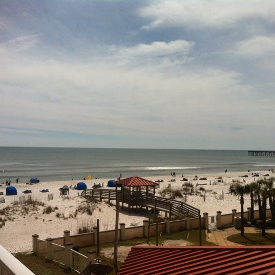 Photo taken at Hilton Pensacola Beach by Alexandrea W. on 3/12/2013