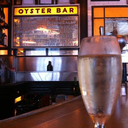 Photo taken at Schiller's Liquor Bar by micilin o. on 10/3/2012