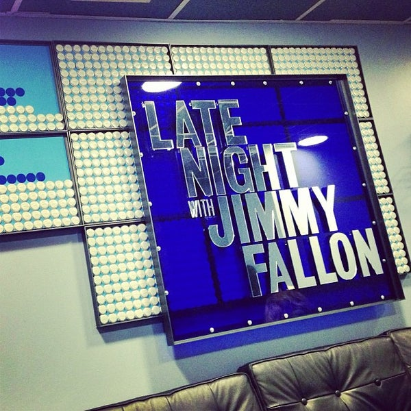 Photo taken at Late Night with Jimmy Fallon by Bryan B. on 10/9/2013
