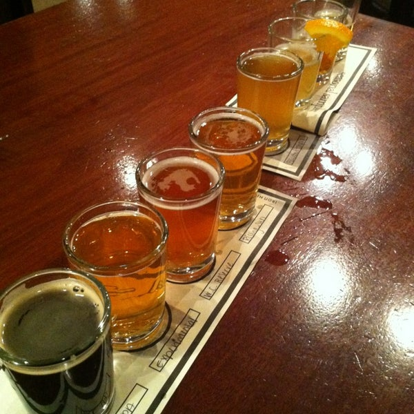 Photo taken at Iron Hill Brewery & Restaurant by Justin G. on 5/26/2013