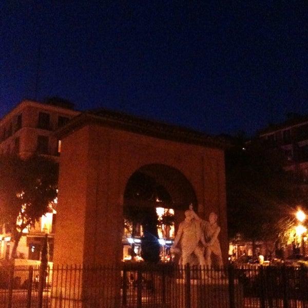Photo taken at Plaza del Dos de Mayo by Raúl O. on 6/24/2013