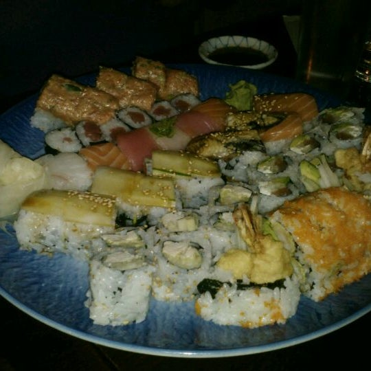 Photo taken at Sushi Lounge by Sara V. on 6/3/2012