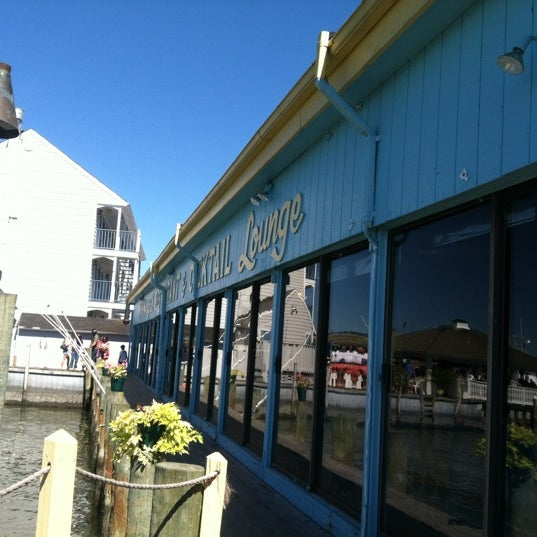 Photo taken at Marina Deck Resturant by Jessica E. on 9/15/2012