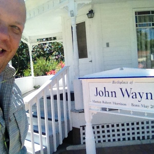Photo taken at John Wayne Birthplace Museum by John on 8/7/2013