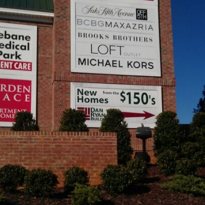 Photo taken at Tanger Outlet Mebane by Bruce W. on 11/26/2012