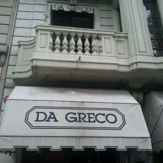 Photo taken at Da Greco by Enrique G. on 10/20/2012