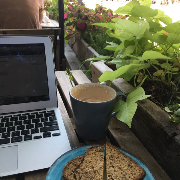 Photo taken at PLG Coffee House and Tavern by Cait M. on 8/25/2017