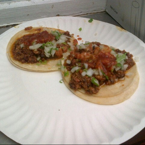 Photo taken at Javier's Tacos Mexico by Marco M. on 12/21/2012