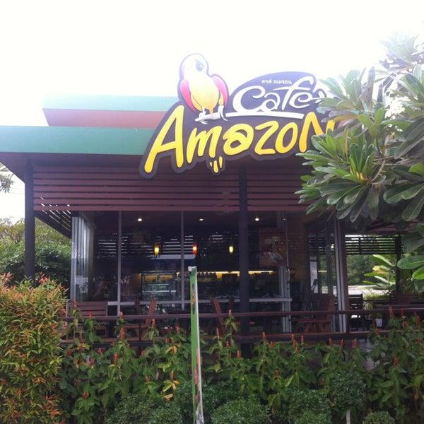 Photo taken at Café Amazon by BeautifulPhuket on 1/28/2013