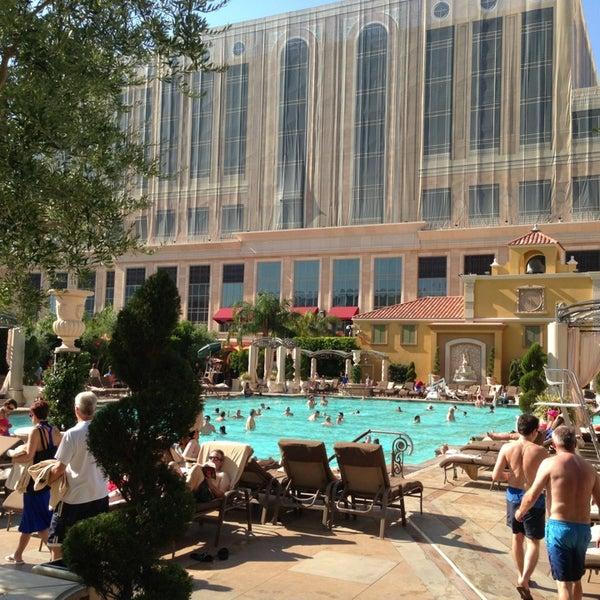 The Venetian Pool The Strip Las Vegas Nv