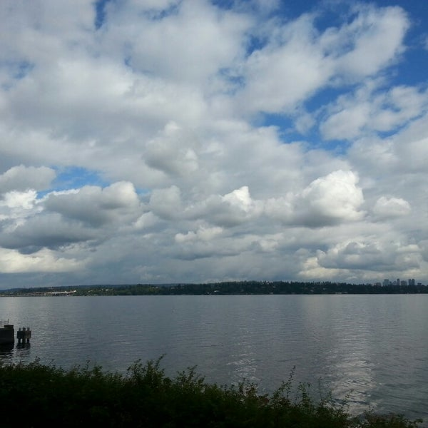 Photo taken at Denny Blaine Park by Ed O. on 9/30/2014