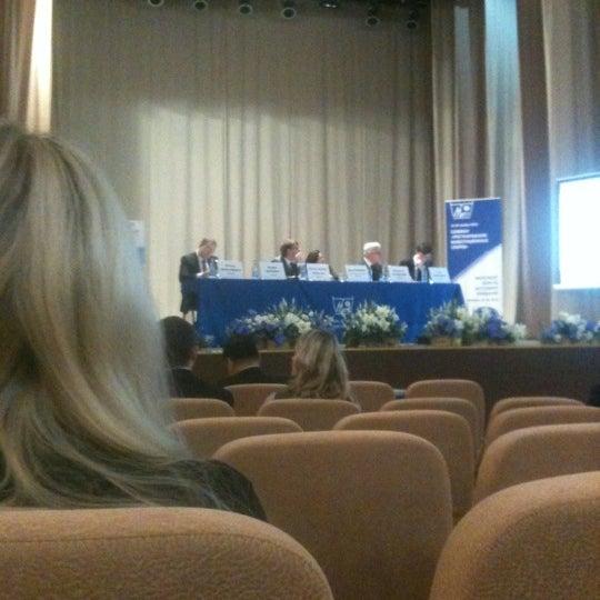 Снимок сделан в Международный университет «МИТСО» пользователем Mariya M. 11/19/2012